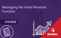Managing the Hotel Revenue Function